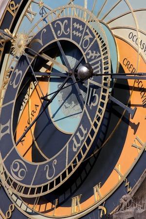 astrological: Astrological Clock (Orloj) in Prague