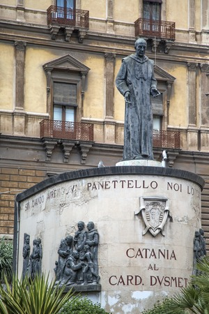 Monument of Blessed Cardinal Giuseppe Benedetto Dusmet in Catania