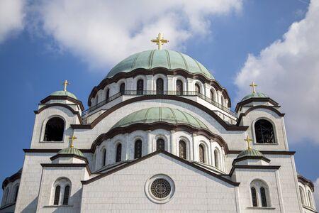 saint: Saint Sava church, Belgrade Stock Photo