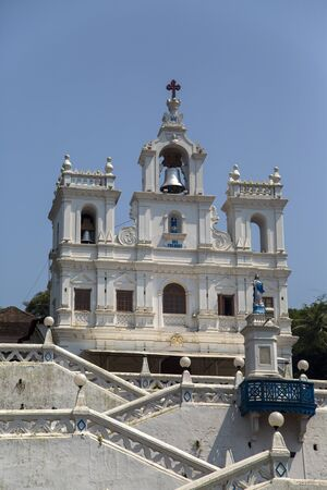 immaculate: Church of Our Lady of the Immaculate Conception at Panaji, Goa, India