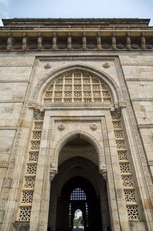 gateway: Gateway of India in Mumbai, India Stock Photo