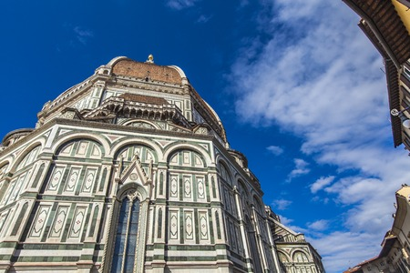 Santa Maria del Fiore catedral in Florence, Italy Stock Photo