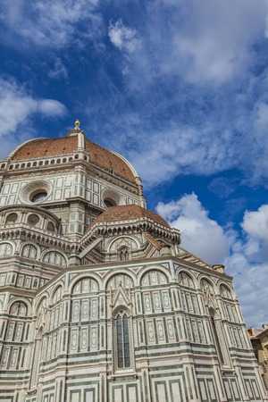 fiore: Santa Maria del Fiore catedral in Florence, Italy Stock Photo