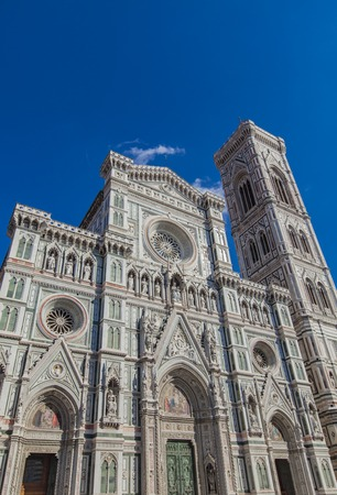 santa maria del fiore: Santa Maria del Fiore catedral in Florence, Italy Stock Photo