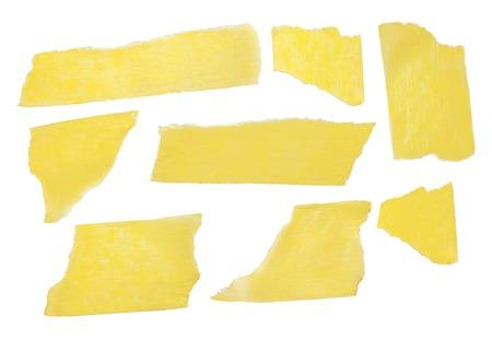 irregular shapes: Irregular shapes on a white background Stock Photo