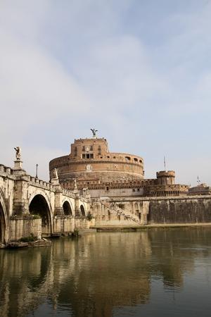 castel: Castel Sant Angelo, Rome, Italy