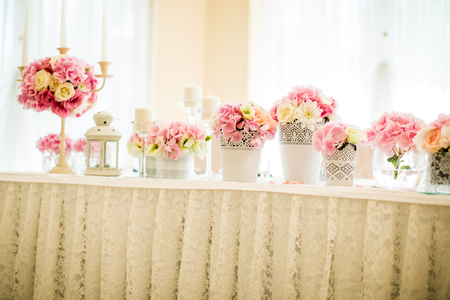 Voir à la décoration de mariage floral