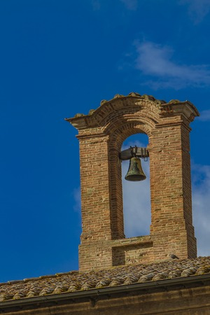 montepulciano: Church bell in Montepulciano, Italy