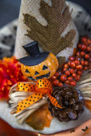 helloween: Close up view at Helloween decoration