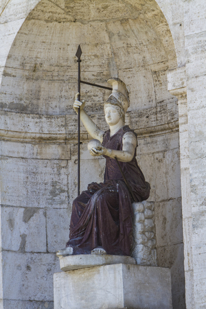 minerva: Statue of the personification of Rome (late Ist century AD)