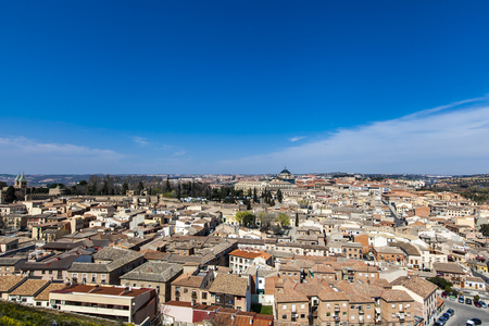 Scenic view of the city of Toledo, Spain