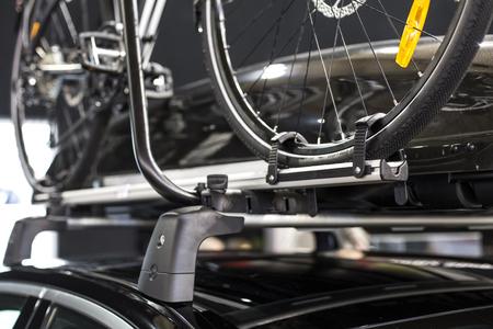 자전거 자전거 랙의 세부 사항 스톡 콘텐츠 - 77416544