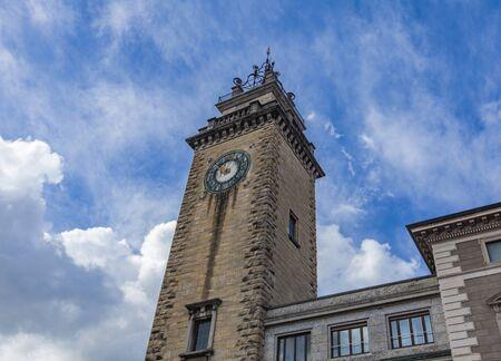 View at Torre dei Caduti in Bergamo, Italy