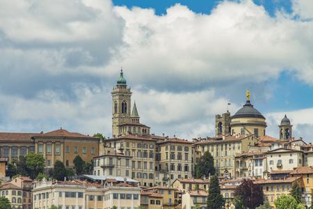 View at Alta Cita in Bergamo, Italy