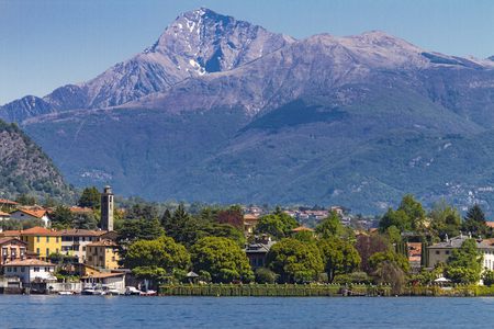 Isola Comacina at Como Lake, Italy