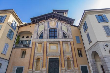 The church of San Giacomo (St James) in Como, Italy