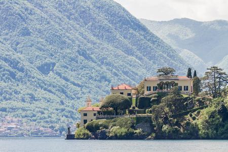 Villa del Balbianello on Lake Como in Italy
