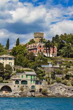 View at Santa Margherita Ligure. Genoa provence, Italy