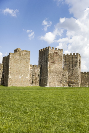 Smederevos fortress. The largest medieval fortress.