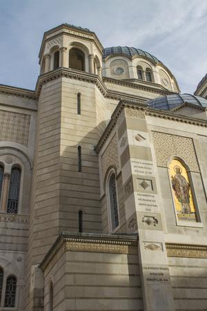 View at Saint Spyridon Church, Trieste Stok Fotoğraf