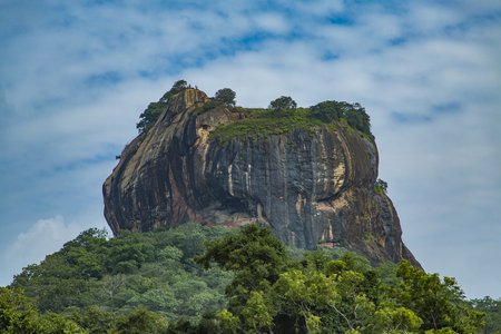 Sigiriya Rock Fortress at Matale in Sri Lanka