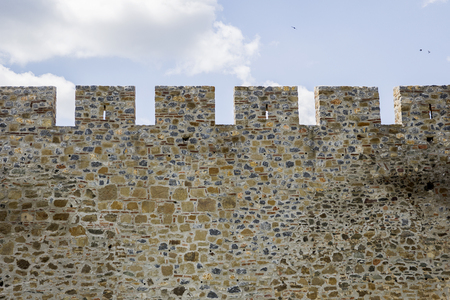 Detail of the medieval fortress in Smederevo, Serbia