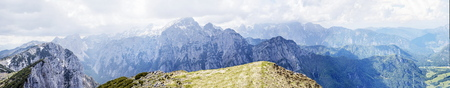 Mountain Pokljuka in Julian Alp at Triglav National Park, Slovenia Imagens