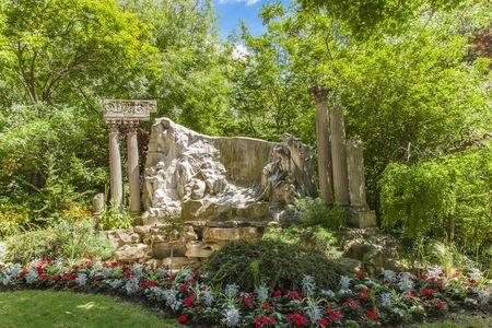 View at Jardin de la Nouvelle France Stock fotó