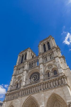 View at Cathedrale Notre Dame de Paris Stock Photo - 81357965