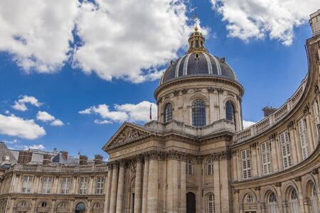 View at Institut de France in Paris, France Stock Photo