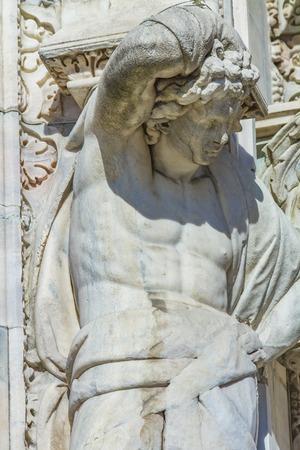 ミラノ大聖堂、イタリアで詳細ビューを Closse