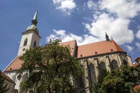 Detailof the St. Martin Cathedral in Bratislava, Slovakia