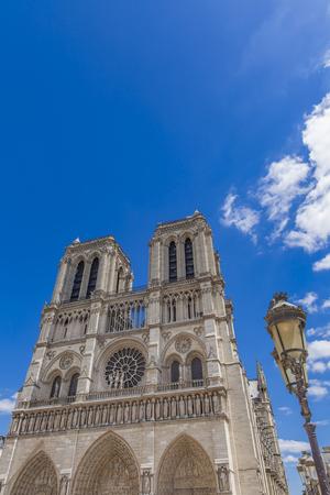 View at Cathedrale Notre Dame de Paris