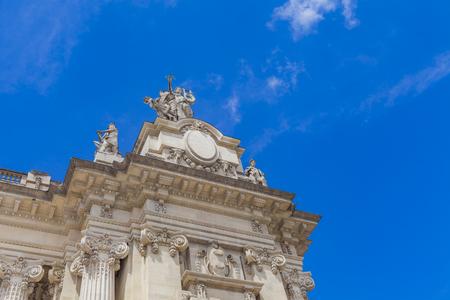 Detail from Grand Palais in Paris, France Banco de Imagens
