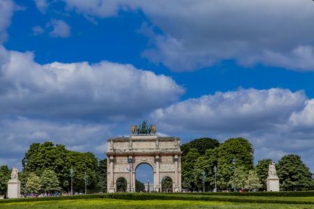 Arc de Triomphe du Carrousel in Paris�, France