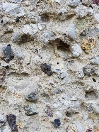 Closeup detail of the white stone texture