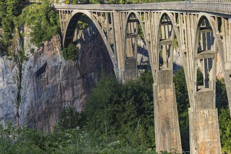 Djurdjevica タラ モンテネグロ タラ川の橋