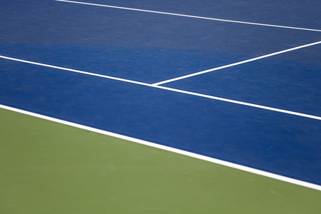 Close up detail view at tennis court