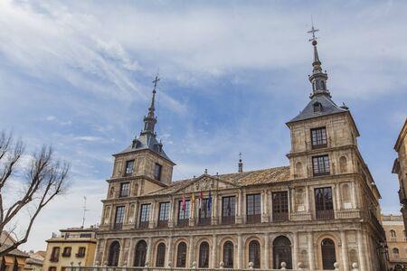 View at Ayuntamiento de Toledo in Spain