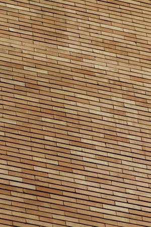 Close up view at brick wall