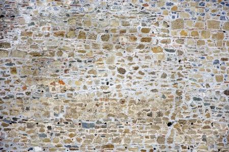 古い石壁で表示します。