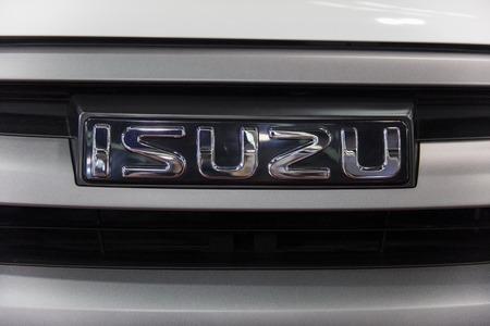 ベオグラード, セルビアのベオグラード、セルビア - 2017 年 3 月 28 日: 詳細のいすゞ車。いすゞが製造会社 1916年で設立された日本の商用車です。 報道画像