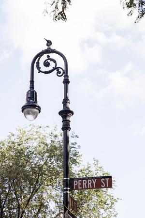 ニューヨーク市、アメリカ合衆国のペリー通りで表示します。
