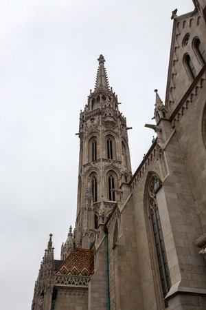 Detail of the Stephansdom cathedral in Vienna, Austria
