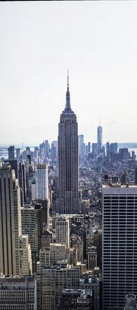 Vue aérienne à New York, États-Unis Banque d'images - 88625179
