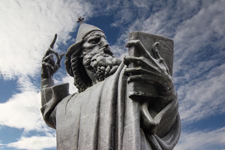 クロアチア、スプリトのニンのグレゴリー像の詳細