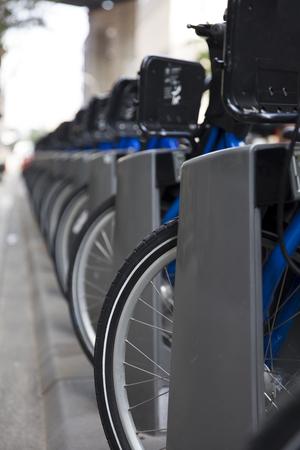 ブルックリンの公共自転車で見る