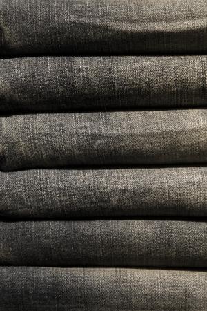 Closeup detail of the old sack pile Stock fotó
