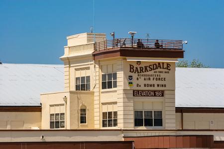 バークスデール、米国 - 2007年4月22日:バークスデール空軍基地からの詳細。1933年以来、基地は毎年恒例の航空ショーで航空機を見るために一般の人