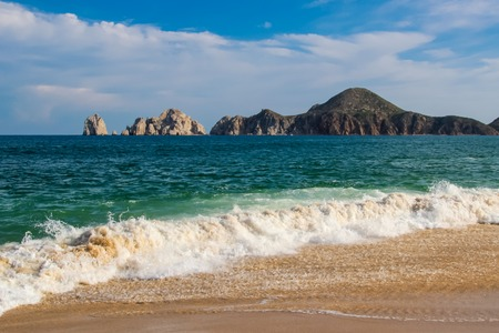 Detail of the beach at Cabo san Lucas in Mexico Stock fotó